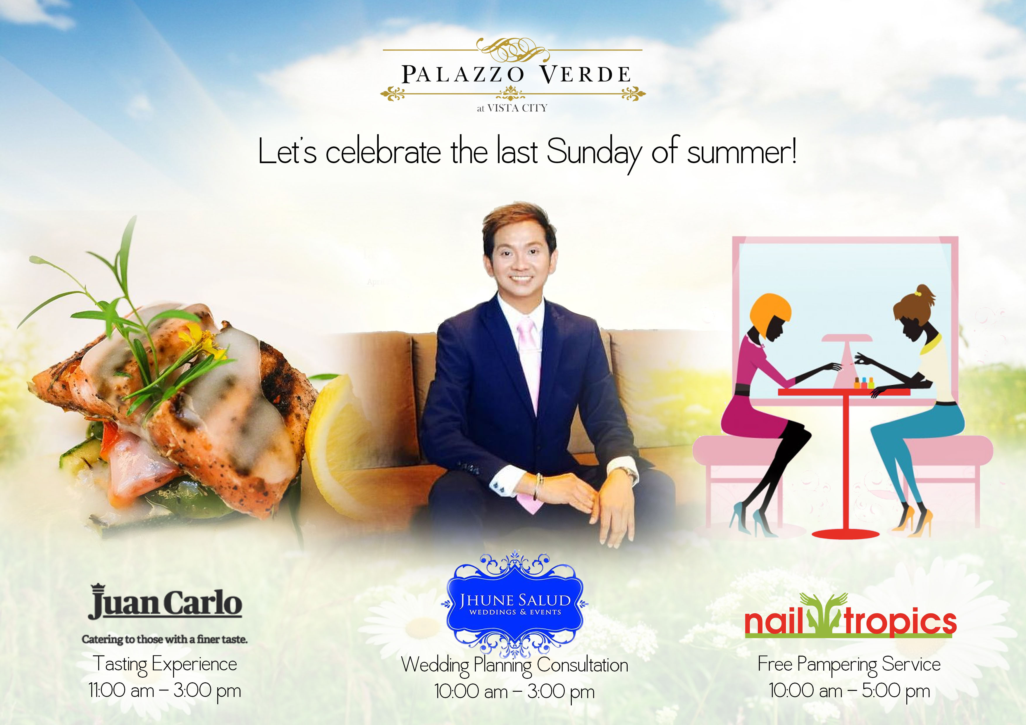 Celebrate the last weekend of Summer at Palazzo Verde!