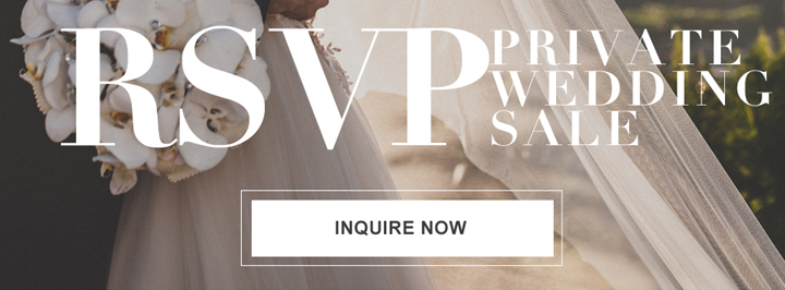 RSVP Private Wedding Sale — Say Yes For Less!