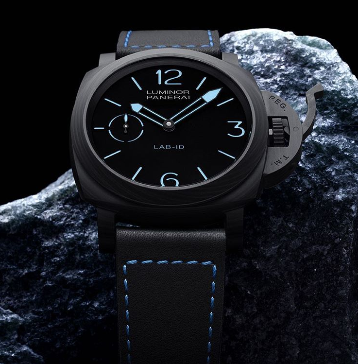 PANERAI-LAB-ID-Luminor-1950-CARBOTECH-3-Days-49mm-PAM700 from Perpetuelle